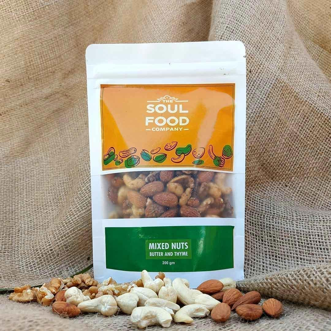 Mixed Nuts (Butter & Thyme)